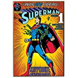 DC Comics Silber Buffalo Superman Breaking Ketten V Holz Wand Art, 33cm von 48,3cm