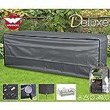 Deluxe Schutzhülle für Rattan 3er Garten Sofa 220x80cm