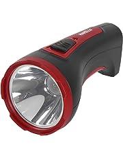 Havells Ranger 10 1-Watt Rechargeable LED Torch (Black)