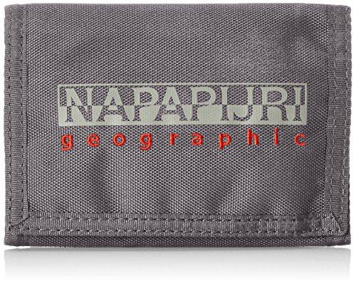 Napapijri - Portafoglio per adulti, colore Grigio (VOLCANO H74), 27x16x1 cm (B x H x T)