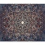 murando - Fototapete Mandala 400x280 cm - Vlies Tapete - Moderne Wanddeko - Design Tapete - Wandtapete - Wand Dekoration - Abstrakt Orient Zen f-C-0131-a-c