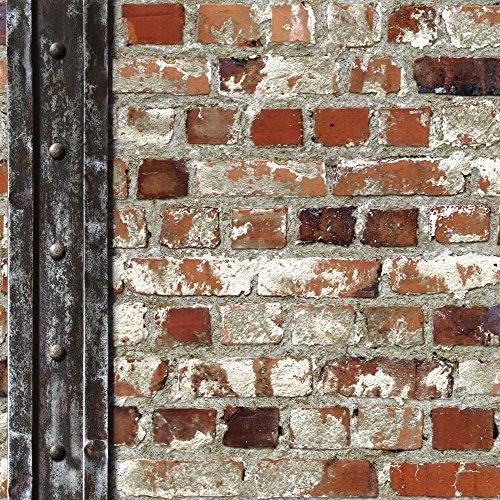 102540-novedades-loft-ladrillo-ladrillo-rojo-beam-con-geometrica-wallpaper