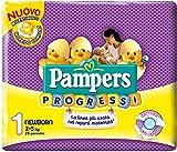 Pampers Progressi Pannolini Newborn, Taglia 1 (2-5 kg), 28 Pannolini
