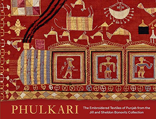 Kostüm Asiatische Indian - Phulkari: The Embroidered Textiles of Punjab from the Jill and Sheldon Bonovitz Collection