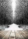 daniu Snow Baum Foto Baby Hintergründen Holz Boden Fotografie Hintergrund PCV 5x 2,1qx118
