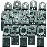 20 x 35 mm TopsTools UN35B_20 Metall schneiden Klingen für Bosch, Fein Multimaster, Multitalent, Makita, Milwaukee, Einhell, ergotools, Hitachi, Parkside, Ryobi, Worx, Workzone Multitool Multi Tool Zubehör