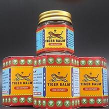 3 x Bálsamo de Tigre ROJO - tarros 30g grande. Analgésico Rub ENVÍO GRATIS 5 DIA (Reino Unido)
