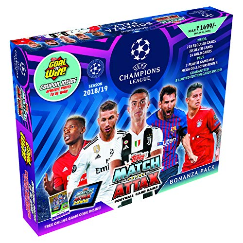 Topps UEFA Champions League TCG Collection Bonanza Pack 2018/19 by Topps