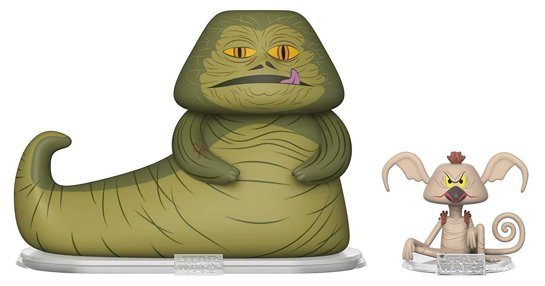 Funko Pop Jabba The Hutt y Salacious Crumb (Star Wars) Funko Pop Star Wars