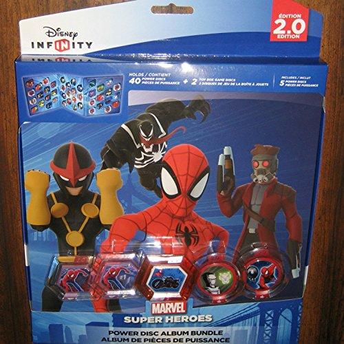 Disney Infinity 2.0 Marvel Spider-Man Power Disc Album Bundle by Disney Interactive Studios (Infinity Ps3-bundle)