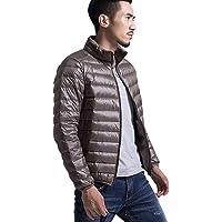 Packable Lightweight Down Jacket Men Man Down Coat Puffer Jacket Men Light Down Filled Jacket Men Puffa Padded Jacket…