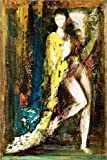 POSTERLOUNGE Canvas print 120 x 180 cm: Delilah by Gustave Moreau/Bridgeman Images - ready-to-hang wall picture, stretched on canvas frame, printed image on pure canvas fabric, canvas print