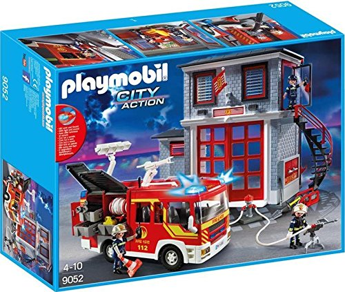 Playmobil City Action 9052 Kit de Figura de Juguete para niños - Kits
