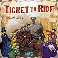 Days of Wonder - Jeu de société - Les Aventuriers du Rail - Ticket to Ride - Langue : anglais (Import Grande Bretagne)