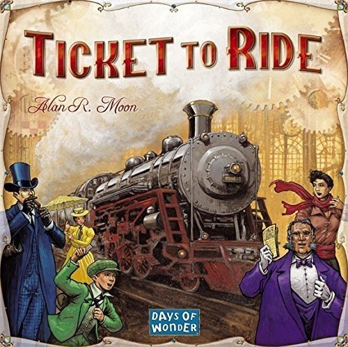 Days of Wonder DOW 7201 Ticket to Ride