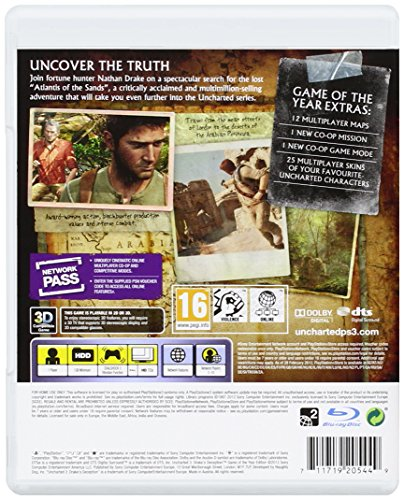 Image of Uncharted 3 Drake's Deception: Game of the Year (PS3)