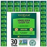 Grüne Teeblätter aus Himalaya (30 Teebeutel), 100% natürlicher Gewichtsverlust-Tee, Detox-Tee, Tee abnehmen...
