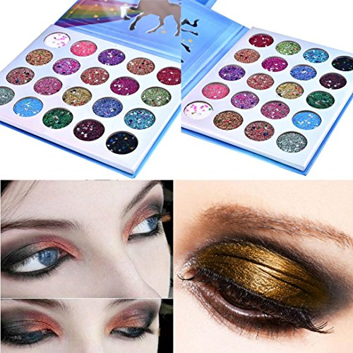 ❤️ Fard à paupières,Shimmer Glitter Ombre à Paupières Poudre Palette Matte Fard à Paupières Cosmétique Maquillage Fard à Paupières Palette by LHWY