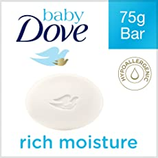 Baby Dove Rich Moisture Bathing Bar, 75g