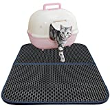 Honeycomb Litière pour chat Litière à litière et contrôle de dispersion -Super taille rectangulaire 30