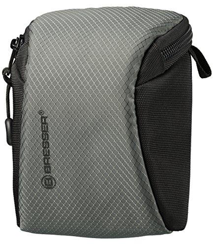 Bresser Kompaktkamera-Tasche Adventure mit Netztaschen und wasserfestem High-End Ripstop Material, groß