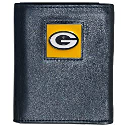 NFL Green Bay Packers Leather Tri-fold Wallet