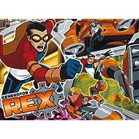 Clementoni Puzzle 27839–104unidades–Generator Rex vs Van kleiss–Generator Rex
