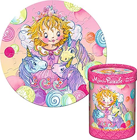 Mini Puzzle 40 Teile Prinzessin Lillifee ab 4 Jahre (Lillifee mit Einhörnern)