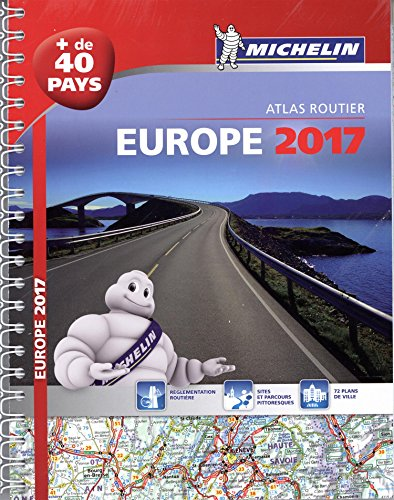 Europe : Atlas routier