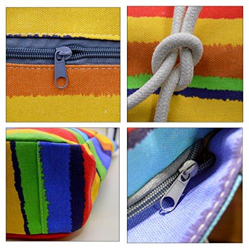 ashdown - Sacchetto donna colored rainbow
