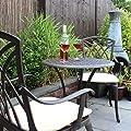 Bentley Garden - Bistro-Sitzgarnitur - 1 Tisch & 2 Stühle - Aluminiumguss von Bentley Garden - Gartenmöbel von Du und Dein Garten