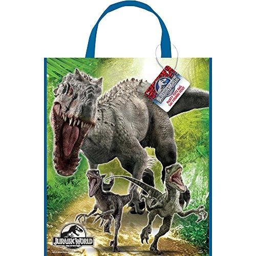 Mundo Jurásico - Partido del bolso del bolso / regalo de 28 x 33 cm - Cumpleaños y partido