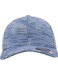 Flexfit Unisex Jacquard Knit Caps, unisex, Flexfit Jacquard Knit, azul, small