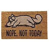 Close Up Simons Cat Fußmatte Nope, Not Today