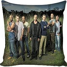 Prison Break Michael Scofield Lincoln Burrows Taie d'oreiller Housse de coussin Pillow Case, imprimées d'un côté