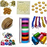 #9: Silk thread bangle making designing kit with all materials & multiple accessories- with kada bangles