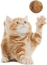 Alokie Katzenminze Kugeln Sticks 100% Rein natürlich Essbar Ball Spielball Katzenspielzeug