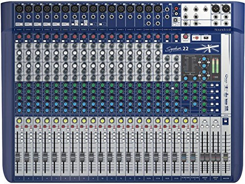 SOUNDCRAFT SIGNATURE 22 MIXER ANALOGICO 22 CANALI CON EFFETTI LEXICON E LIMITER DBX