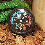 Reptilien-Thermometer, Feuchtigkeits-Messgerät mit Farbcodes für Terrarium