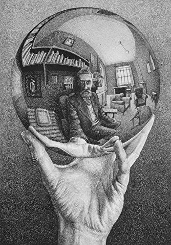 Escher 06 Poster Stampe cm. 50 x 70 papi arte moderna stampa da quadro dipinto falso d'autore vendita online