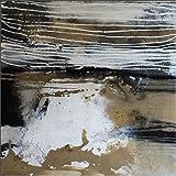 Acryl Gemälde auf Leinwand/ abstrakt/ 100x100cm/ Naturgewalten/ Acrylbild moderne Kunst/ handgemalt/ Originalbild