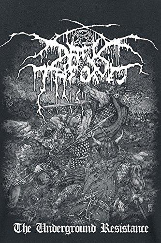 Darkthrone The underground resistance T-Shirt schwarz Schwarz