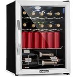 Klarstein Beersafe XL Mix It Edition - Refrigerator, Mini Fridge, Mini Bar, 0 to 13 ° C, 60 L, LED, 4 Metal Grills…
