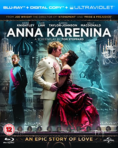 Price comparison product image Anna Karenina (Blu-ray + Digital Copy + UV Copy) [2012] [Region Free]