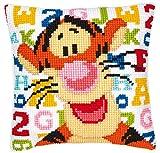 Vervaco - Cojín de Punto de Cruz de Disney abecedario, diseño de tigú