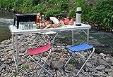 Beileer kompakter Klapphocker für unterwegs,Camping , Beach, Ocean -
