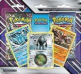 Pokemon - Soleil et Lune - Tempête Céleste - Pack 2 Boosters + 3 Cartes Promo, POBRAR11...
