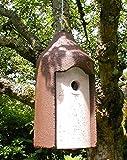 Schwegler Naturschutzprodukt Nisthöhle Typ 2M Vogelhöhle freihängend FO Nisthilfe Flugloch 26 mm Satz 2 Stück