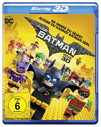 The LEGO Batman Movie [3D Blu-ray] - City Filme Lego