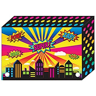Ashley Productions ASH90400 Decorated Poly Index Card Box, 4